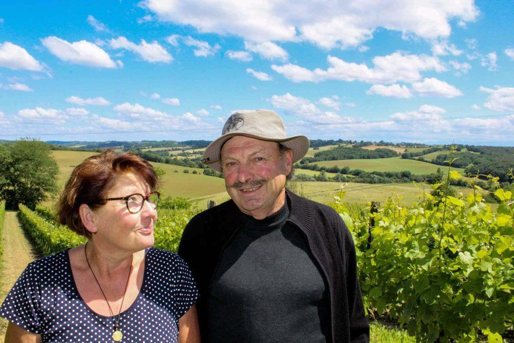 Visite vigneronne bio